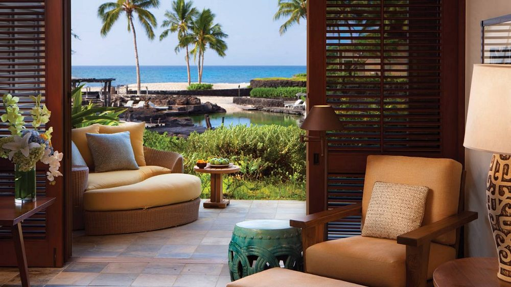 four seasons resort hualalai at historic ka 39 upulehu big island of hawaii reviews pictures. Black Bedroom Furniture Sets. Home Design Ideas
