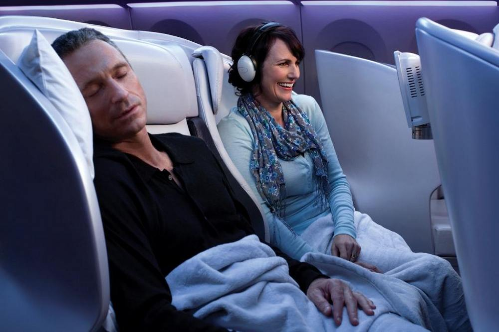 Premium Economy Spaceseat - Air New Zealand Flights. Copyright Air New Zealand.