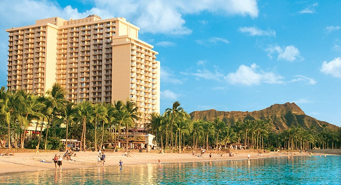 Aston Waikiki Beach Hotel Oahu Reviews Pictures Map Pacific Hawaii