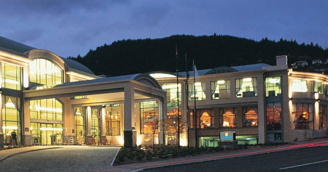 Entrance - Millenium Hotel Queenstown. Copyright Millennium Hotel Queenstown.