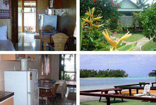 aroko bungalows cook islands reviews pictures map. Black Bedroom Furniture Sets. Home Design Ideas