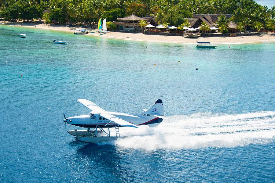 Pacific Island Seaplanes Check In Desk