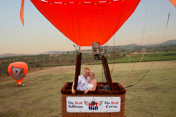 Cairns Private Charter - Hot Air Ballooning. Copyright Hot Air Ballooning.